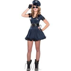 Cop dress costume size large